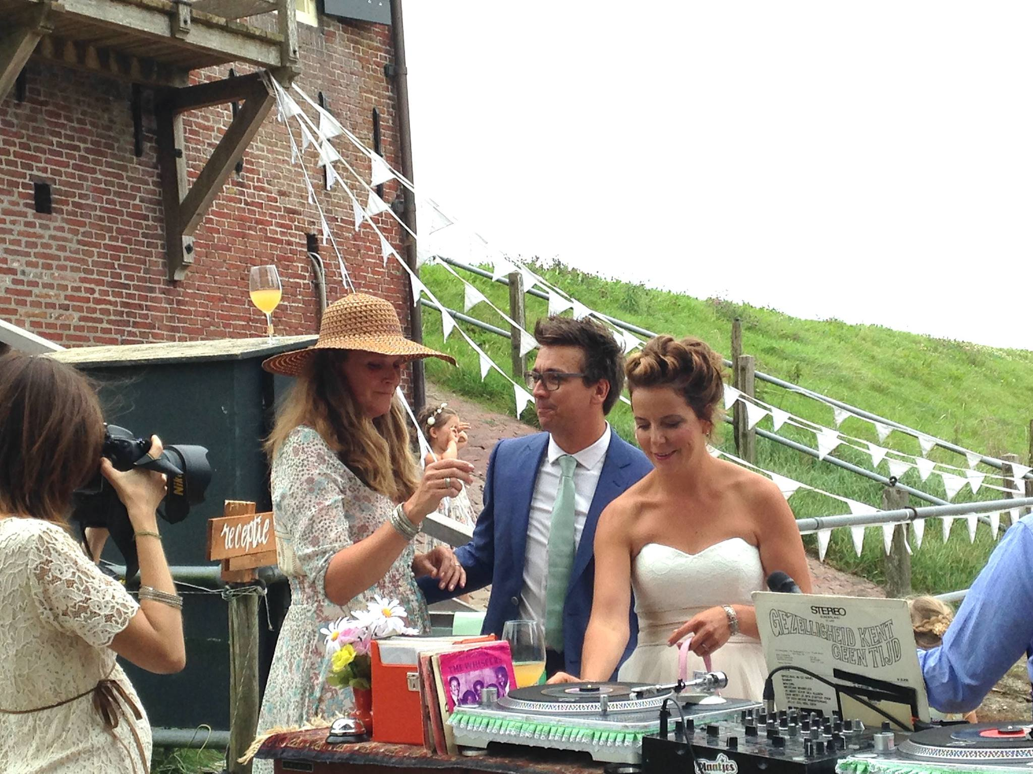 Een bruidstel voor de platenspelers